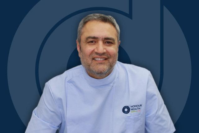 Honour Health principal dentist - Onkar Dhanoya