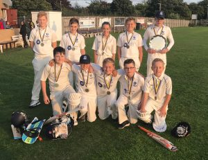Honour Health sponsors Beamish and East Stanley Under 13s cricket club