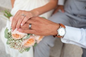 bride and groom - wedding countdown