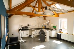 a spacious dental clinic at Honour Health dentist in Jesmond, Newcastle