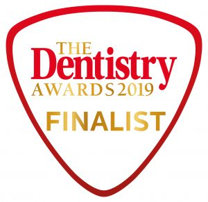 The Dentistry Awards 2019 Finalist logo