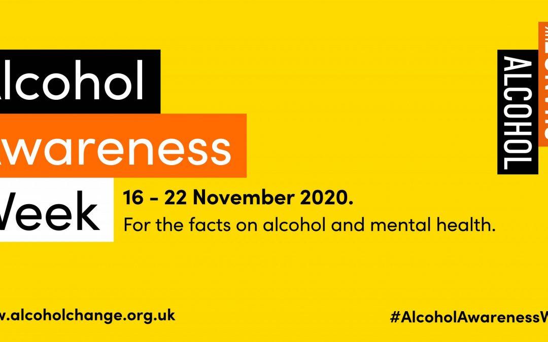 This week (16 – 22 November) is Alcohol Awareness Week