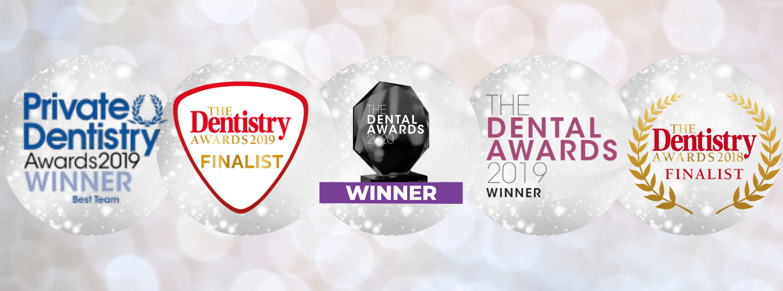 awards banner dentist newcastle